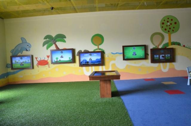 ekran interaktywny, stół dotykowy